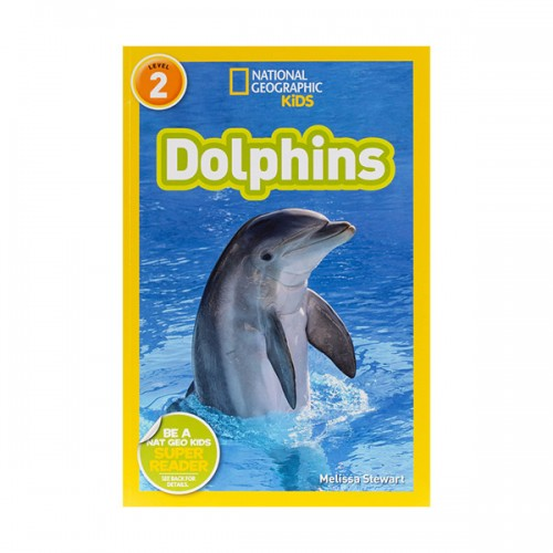 RL 3.7 : National Geographic Kids Readers Level 2 : Dolphins (Paperback)