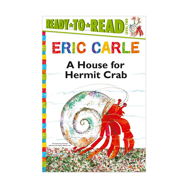 RL 3.7 : Ready to Read 2 : A House for Hermit Crab (Paperback)