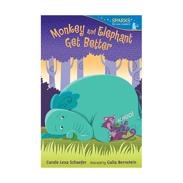 RL 2.0 : Candlewick Sparks : Monkey and Elephant Get Better (Paperback)