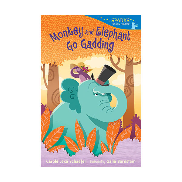 RL 2.4 : Candlewick Sparks : Monkey and Elephant Go Gadding (Paperback)