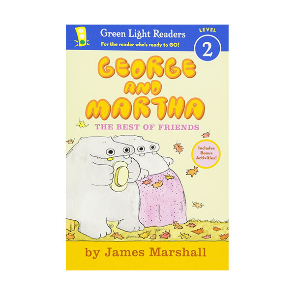 RL 2.2 : Green Light Readers Level 2 : George and Martha : The Best of Friends (Paperback)