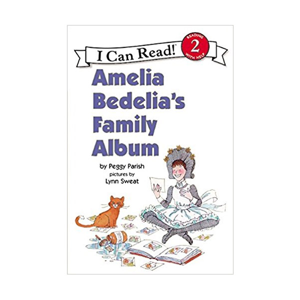RL 2.2 : I Can Read Book Level 2 : Amelia Bedelia's Family Album (Paperback)