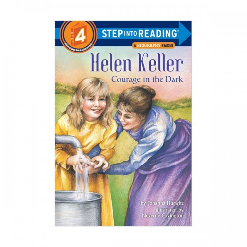 RL 3.7 : Step Into Reading 4 : Helen Keller : Courage in the Dark (Paperback)