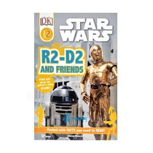 RL 3.8 : DK Readers Level 2 : Star Wars : R2-D2 and Friends (Paperback)