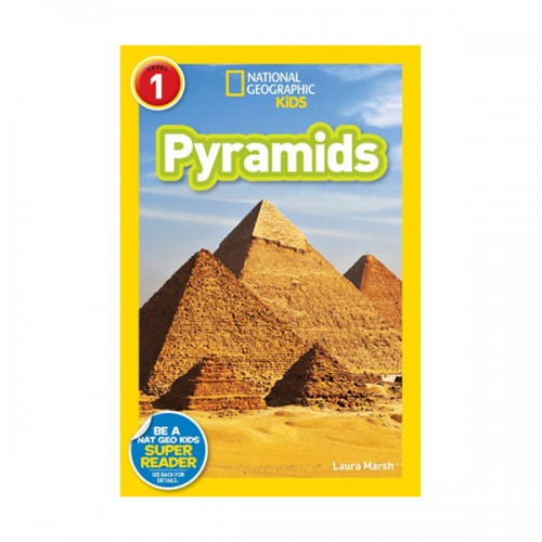 RL 3.8 : National Geographic Kids Readers Level 1 : Pyramids (Paperback)