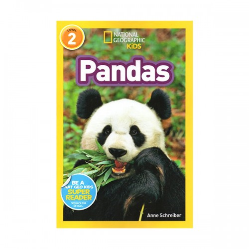 RL 3.8 : National Geographic Kids Readers Level 2 : Pandas (Paperback)