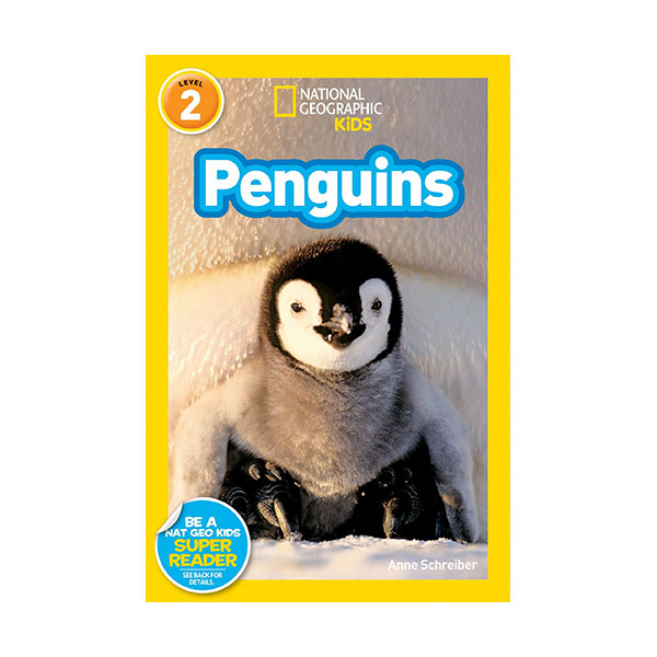 RL 3.8 : National Geographic Kids Readers Level 2 : Penguins! (Paperback)