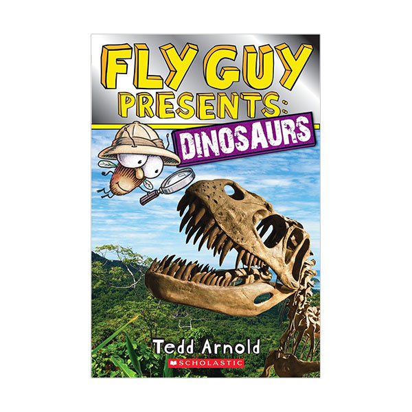 Scholastic Reader Level 2 : Fly Guy Presents : Dinosaurs (Paperback)