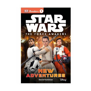 RL 3.9 : DK Readers Level 1 : Star Wars : The Force Awakens : New Adventures (Paperback)