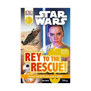 RL 3.9 : DK Readers Level 2 : Star Wars : Rey to the Rescue! (Paperback)