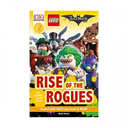 RL 3.9 : DK Readers Level 2 : THE LEGO BATMAN MOVIE : Rise of the Rogues (Paperback)
