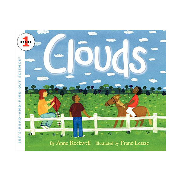 RL 3.9 : Let's Read And Find Out Science 1 : Clouds (Paperback)