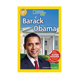 RL 3.9 : National Geographic Kids Readers Level 2 : Barack Obama (Paperback)