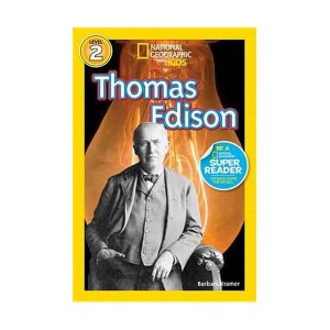 RL 3.9 : National Geographic Kids Readers Level 2 :Thomas Edison (Paperback)