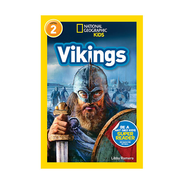 RL 3.9 : National Geographic Readers Level 2 : Vikings (Paperback)