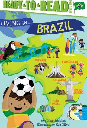 RL 3.9 : Ready To Read 2 : Living in . . . Brazil (Paperback)