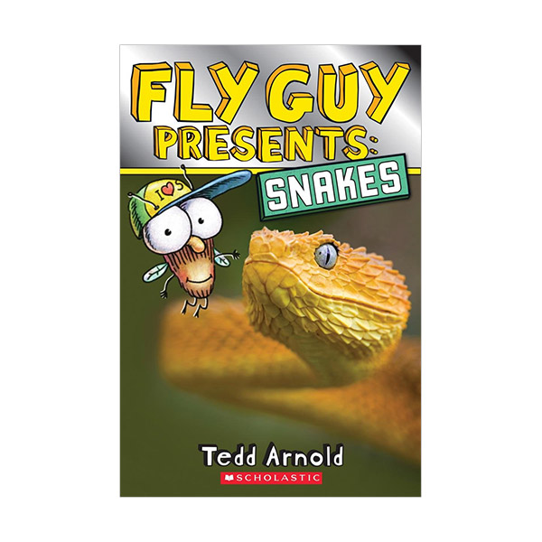 RL 3.9 : Scholastic Reader Level 2 : Fly Guy Presents : Snakes (Paperback)
