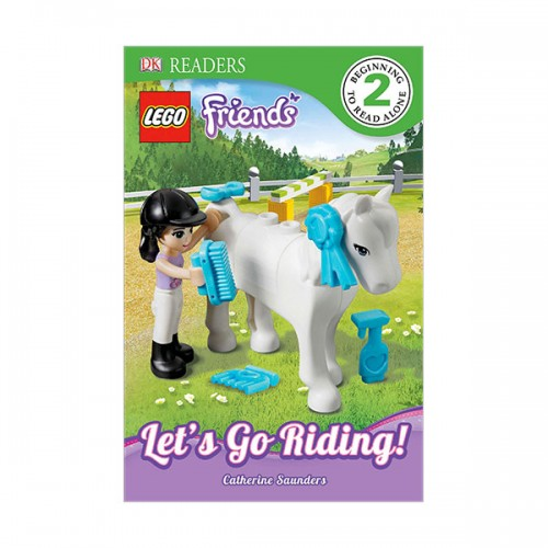 RL 4.0 : DK Readers Level 2: LEGO Friends: Let's Go Riding! (Paperback)