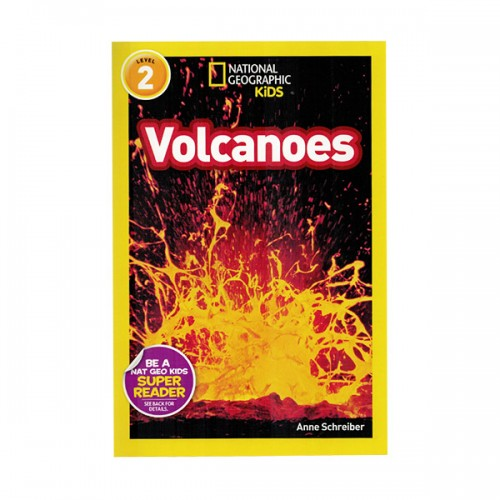 RL 4.0 : National Geographic Kids Readers Level 2 : Volcanoes! (Paperback)