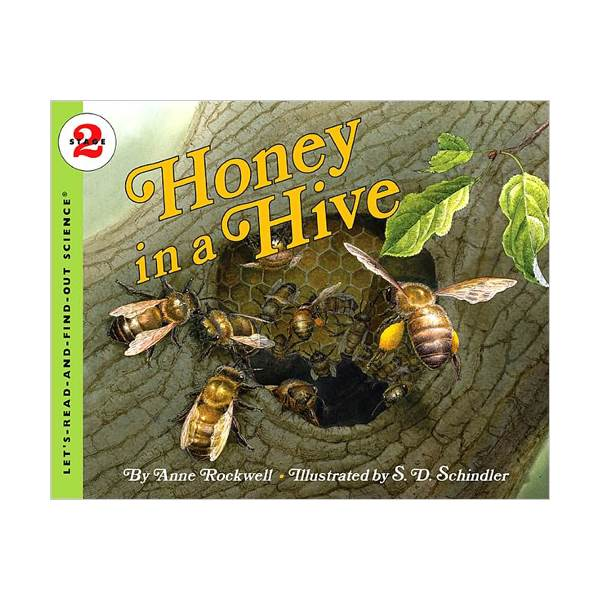 RL 4.1 : Let's Read And Find Out Science 2 : Honey in a Hive (Paperback)