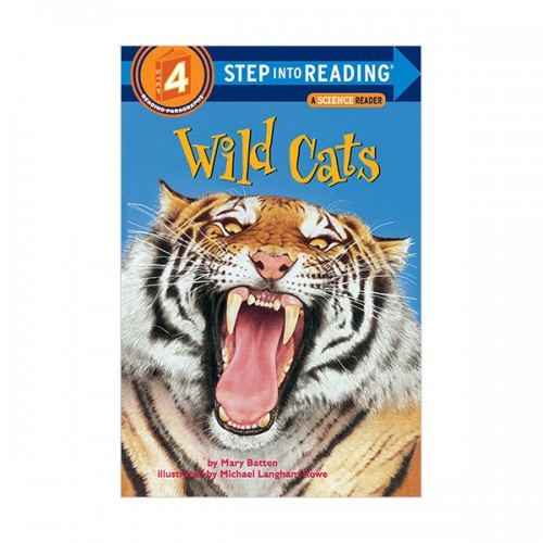 RL 4.1 : Step Into Reading 4 : Wild Cats (Paperback)