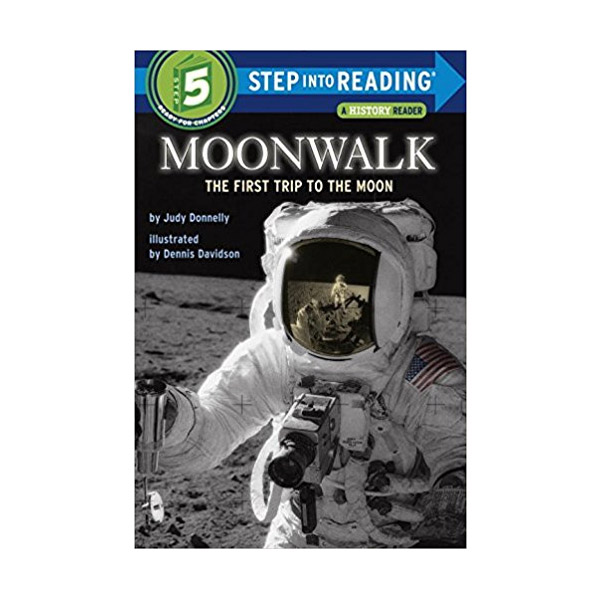 RL 4.1 : Step into Reading 5 : Moonwalk : The First Trip to the Moon (Paperback)
