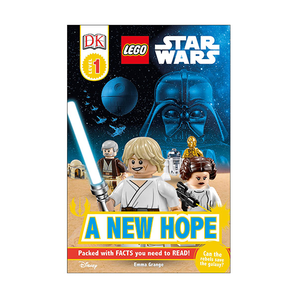 DK Readers Level 1 : LEGO Star Wars : A New Hope (Paperback)