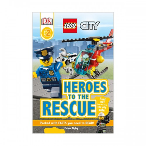 RL 4.2 : DK Readers Level 2 : LEGO City : Heroes to the Rescue (Paperback)