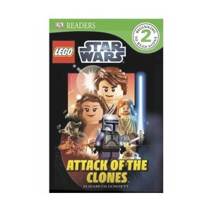 RL 4.2 : DK Readers Level 2 : LEGO Star Wars : Attack of the Clones (Paperback)