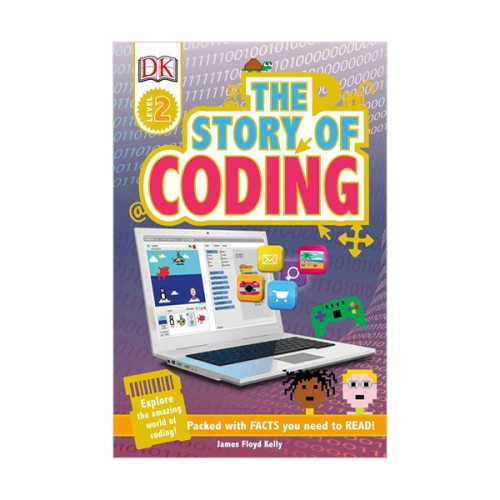 DK Readers 2 : Story of Coding (Paperback)