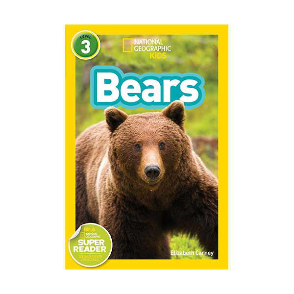 RL 4.2 : National Geographic Kids Readers Level 3 : Bears (Paperback)