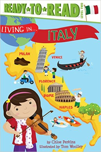 RL 4.2 : Ready To Read 2 : Living in . . . Italy (Paperback)