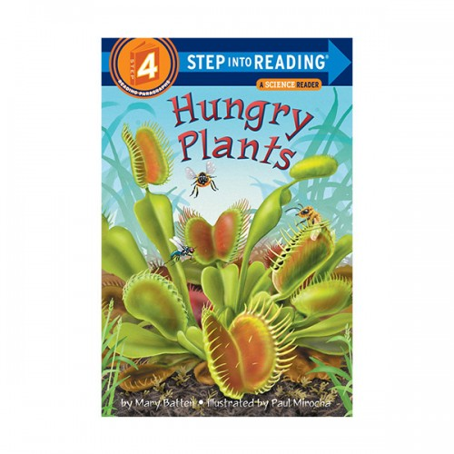 RL 4.2 : Step Into Reading 4 : Hungry Plants (Paperback)