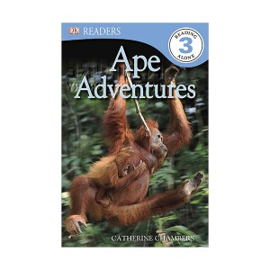 RL 4.3 : DK Readers Level 3 : Ape Adventures (Paperback)