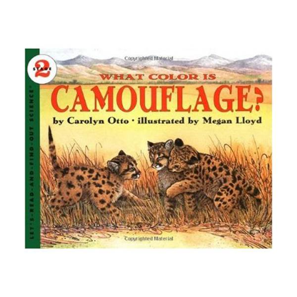 RL 4.3 : Let's Read And Find Out Science 2 : What Color Is Camouflage? (Paperback)