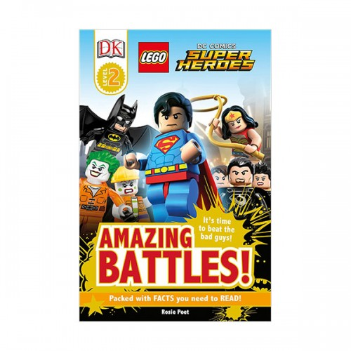 RL 4.4 : DK Readers Level 2 : LEGO DC Comics Super Heroes: Amazing Battles! (Paperback)