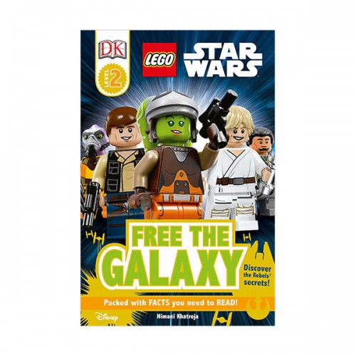 RL 4.4 : DK Readers Level 2 : LEGO Star Wars : Free the Galaxy (Paperback)