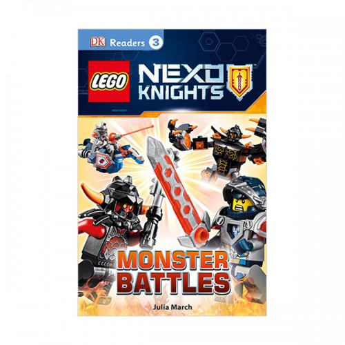 RL 4.4 : DK Readers Level 3 : LEGO NEXO KNIGHTS : Monster Battles (Paperback)