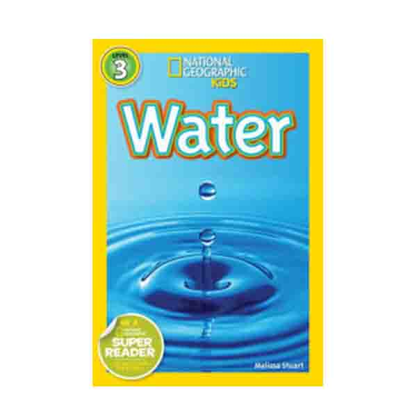 RL 4.4 : National Geographic Kids Readers Level 3 : Water (Paperback)