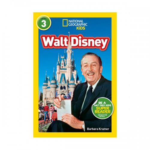 RL 4.4 : National Geographic Readers 3 : Walt Disney (Paperback)