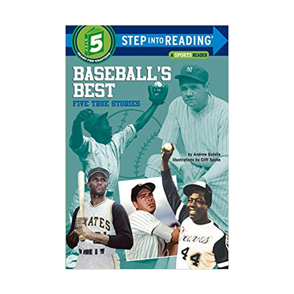 RL 4.4 : Step into Reading 5 : Baseball's Best : Five True Stories (Paperback)