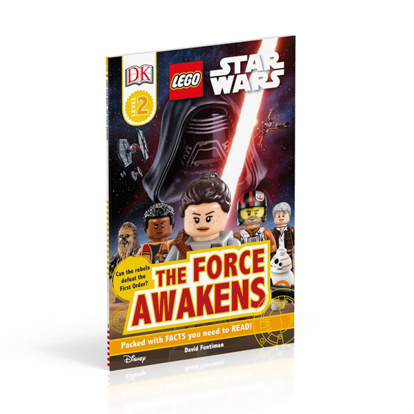 RL 4.6 : DK Readers Level 2 : LEGO Star Wars : The Force Awakens (Paperback)