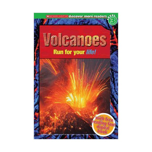 RL 4.6 : Scholastic Discover More Reader Level 3 : Volcanoes (Paperback)