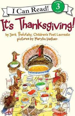 RL 4.7 : I Can Read Level 3 : It's Thanksgiving! (Paperback)