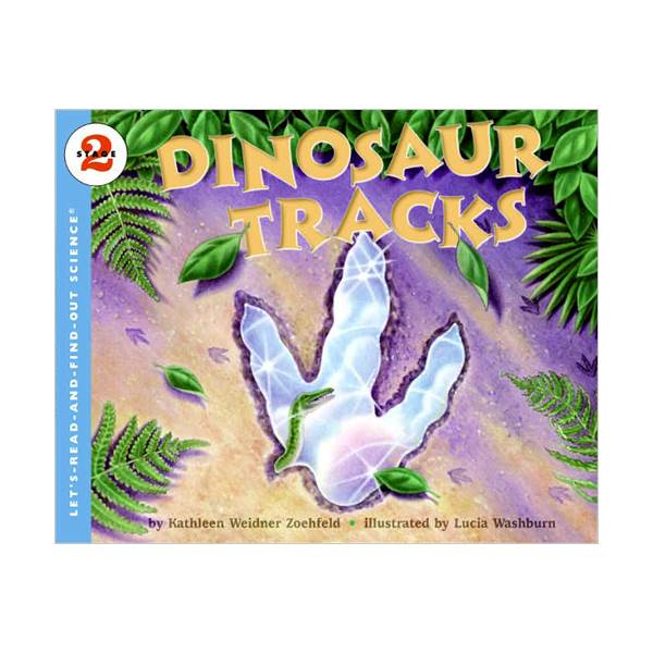 RL 4.7 : Let's Read And Find Out Science 2 : Dinosaur Tracks (Paperback)