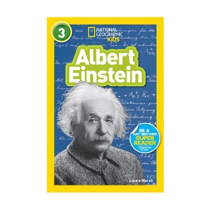 RL 4.7 : National Geographic Kids Readers Level 3 : Albert Einstein (Paperback)