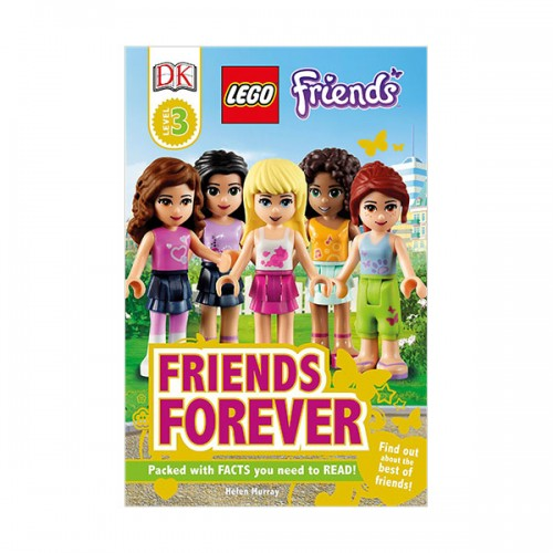 RL 4.9 : DK Readers Level 3: LEGO Friends: Friends Forever (Paperback)