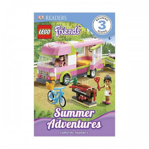 RL 4.9 : DK Readers Level 3: LEGO Friends: Summer Adventures (Paperback)
