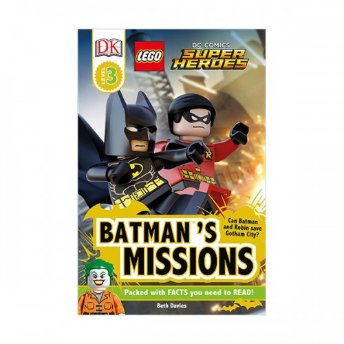 RL 5.0 : DK Readers Level 3 : LEGO DC Comics Super Heroes : Batman's Missions (Paperback)