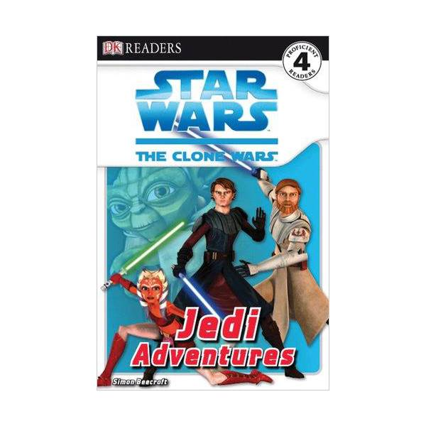 RL 5.0 : DK Readers Level 4 : Star Wars : The Clone Wars : Jedi Adventures (Paperback)